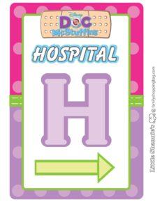Hospital Sign Doc Mcstuffins
