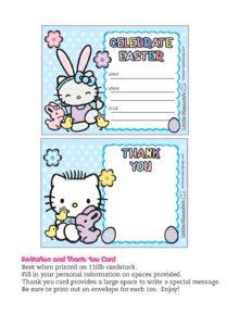 Invitation Easter