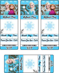 Frozen Invitations 2