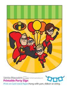 Left Banner Incredibles