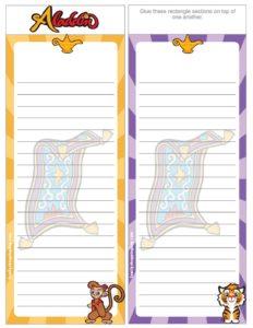 List Paper Aladdin