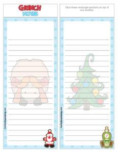 List Paper Grinch