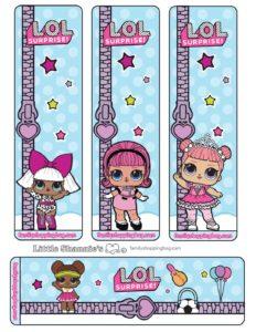 Lol Surprise Bookmarks