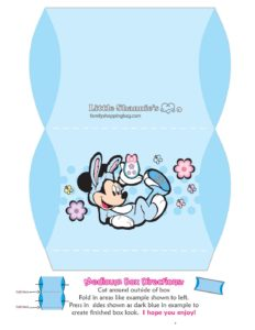 Med Favor Box Mickey Mouse Easter