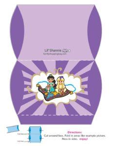 Medium Favor Box Aladdin