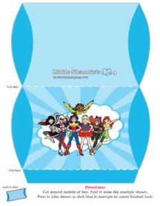 Medium Favor Box DC Super Hero Girls