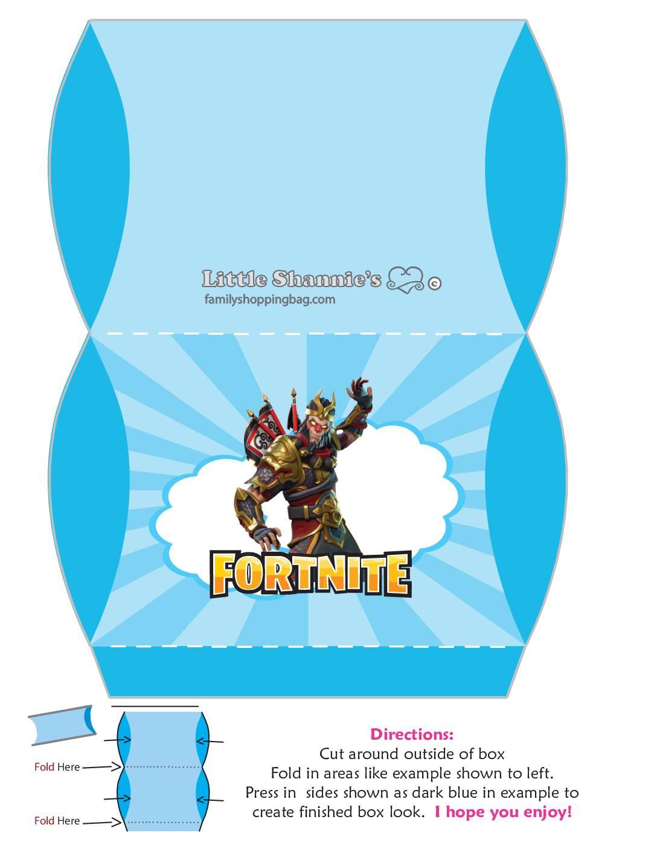 Medium Favor Box Fortnite