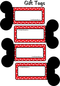 Mickey Gift Tags