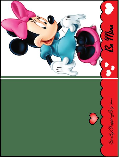 Mini Card Mickey Valentine