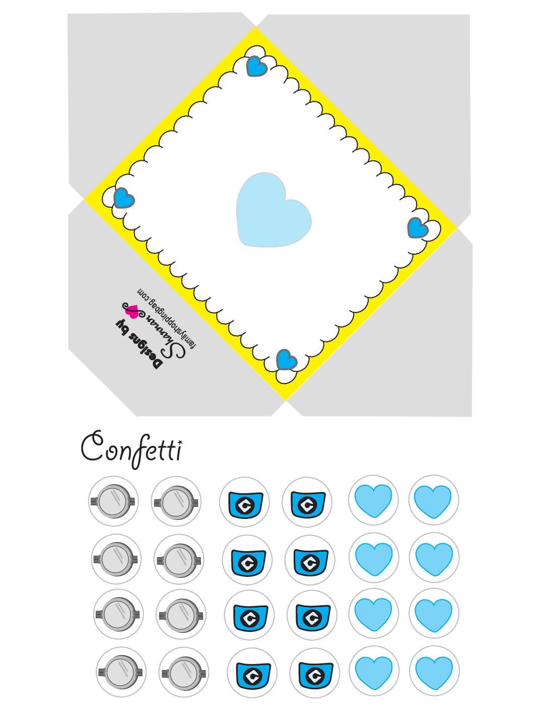 Minion Envelope Valentines