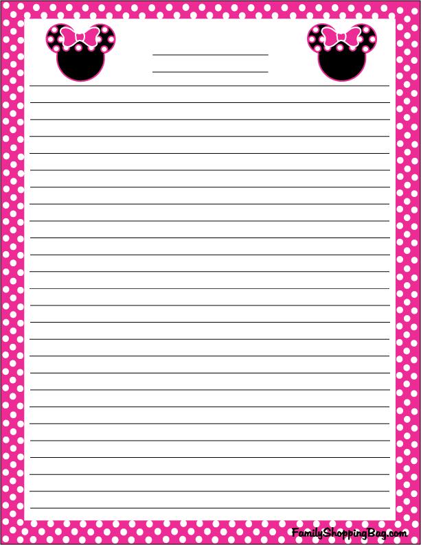 Minnie Stationery