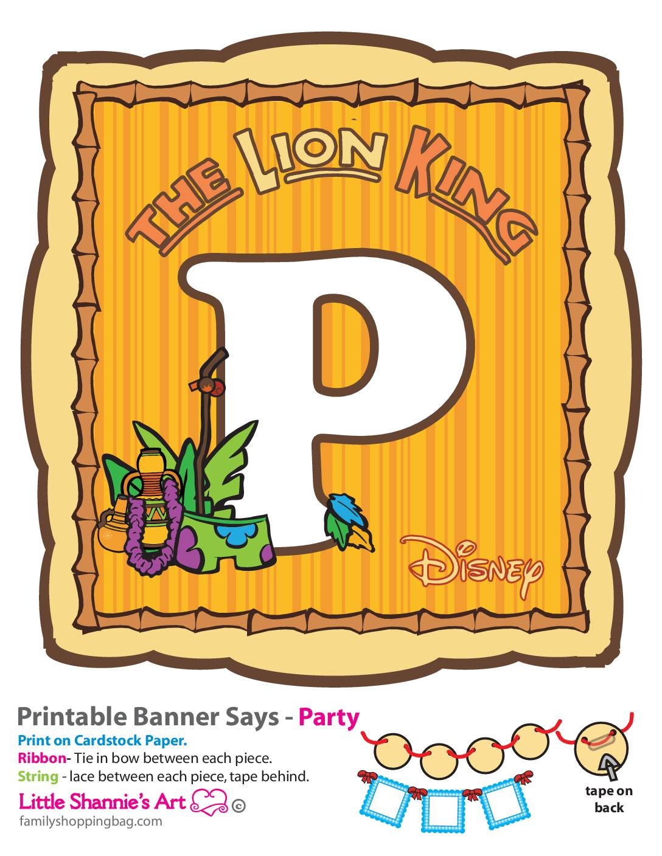 P Lion King