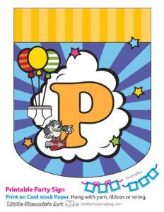 Party Banner P Captain Underpants