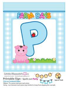 Party Banner P Farm