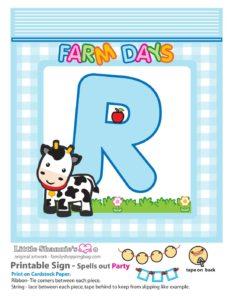 Party Banner R Farm