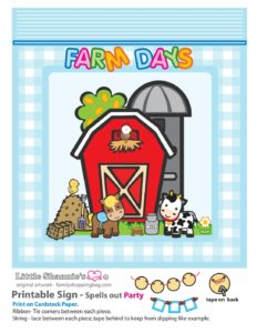 Party Banner Right Farm