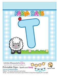 Party Banner T Farm