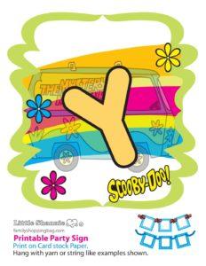 Party Banner Y Scooby Doo