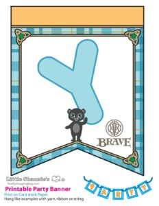 Party Banner y Brave