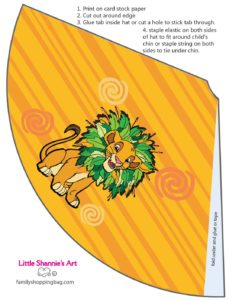Party Hat 2 Lion King