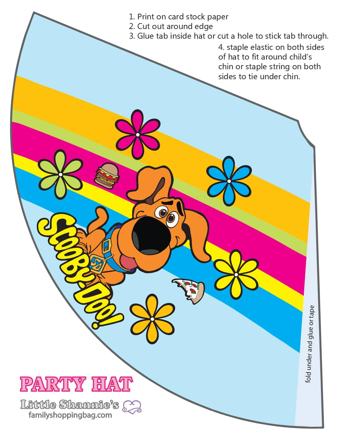 Party Hat 2 Scooby Doo