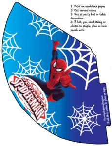 Spider Man Party Hat
