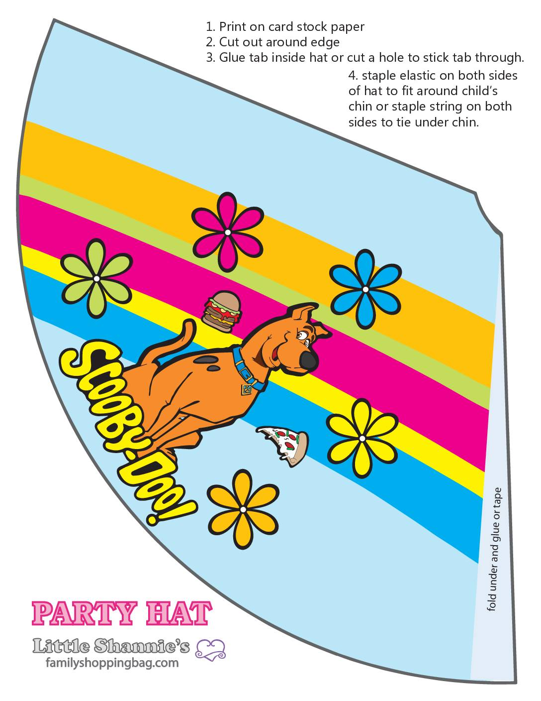 Party Hat Scooby Doo