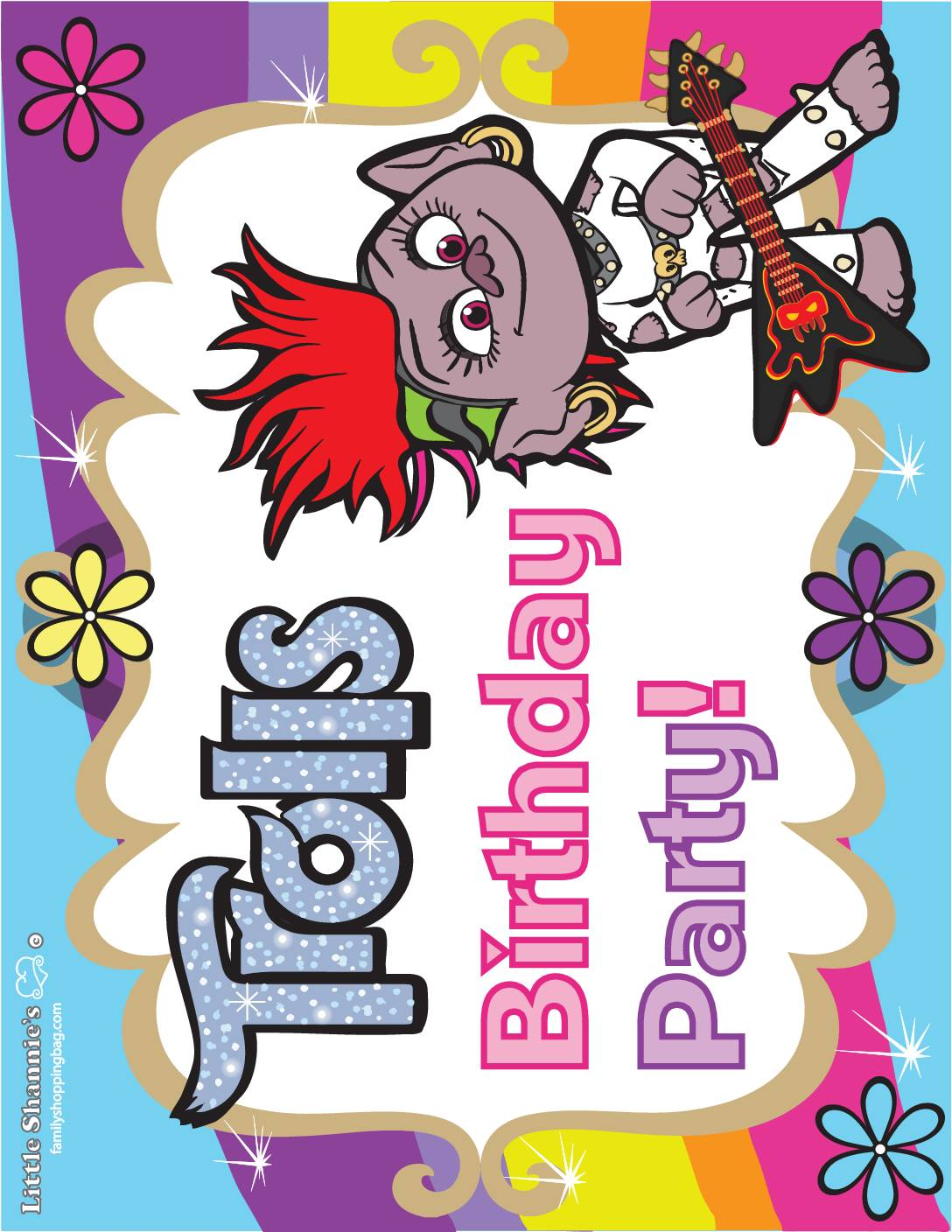 Party Sign 2 Trolls