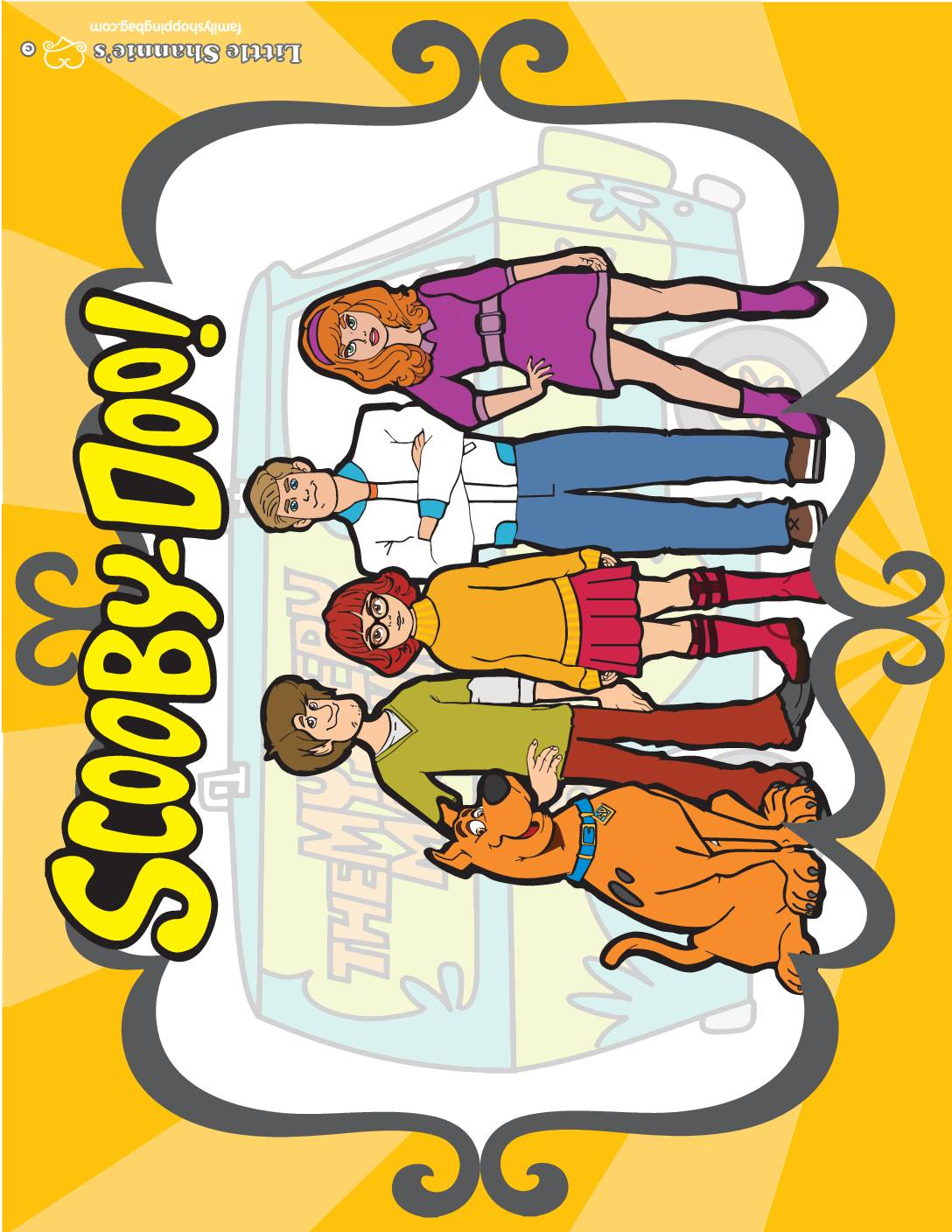 Party Sign 3 Scooby Doo