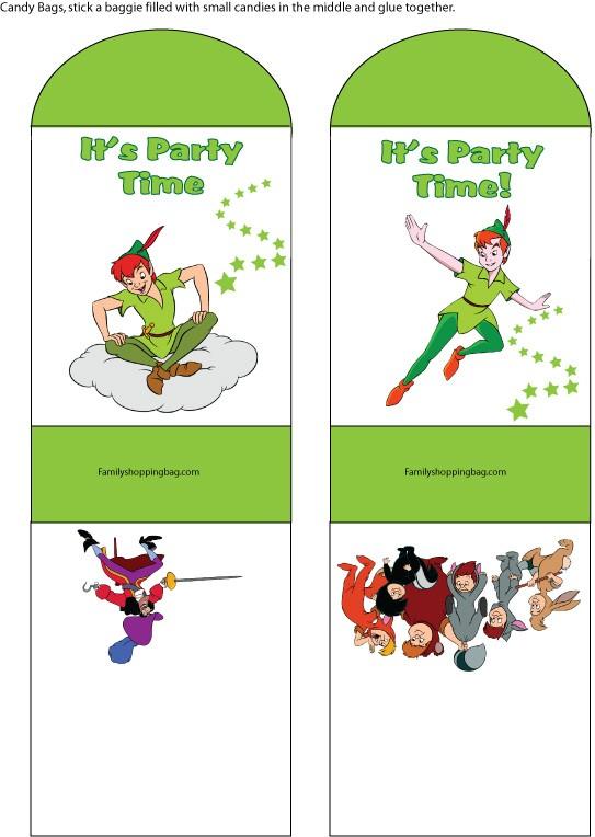 Peter Pan Candy Bag