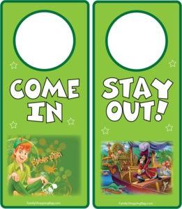 Peter Pan Sign 2