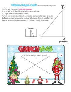Picture Frame Grinch