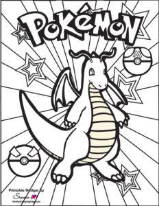 Pokemon Coloring Page 3