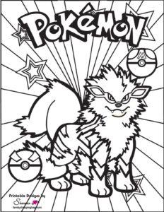 Pokemon Coloring Page 5