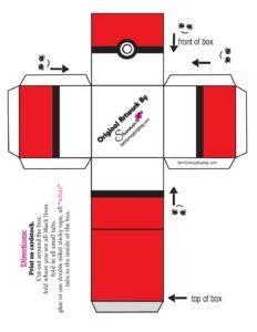 Pokemon Favor Box