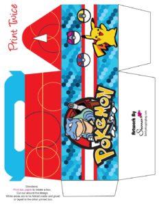 Pokemon Favor Box 3
