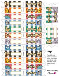 Pokemon Flags