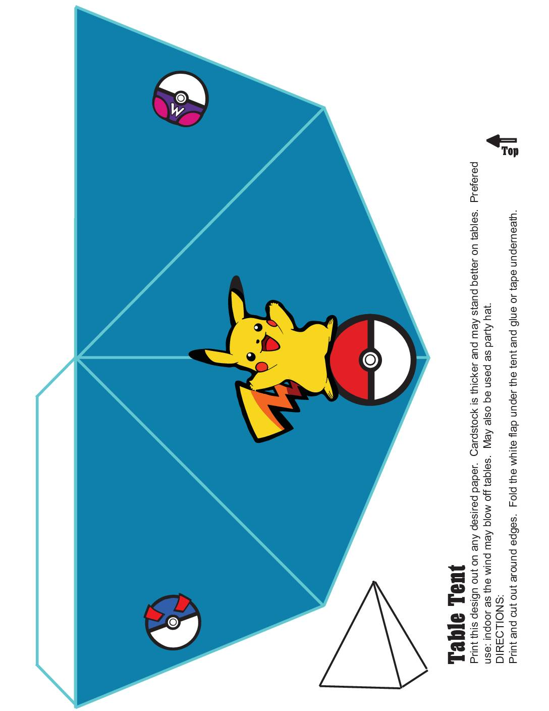 Pokemon Table Decoration 3