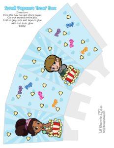 Popcorn Box Nella Knight