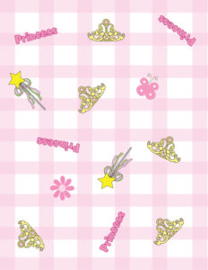 Princess Wrapping Paper