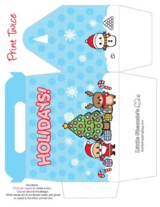 Purse Box Christmas