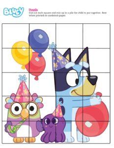 Puzzle 2 Bluey