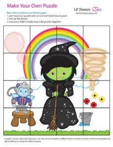 Puzzle 2 Wizard of Oz