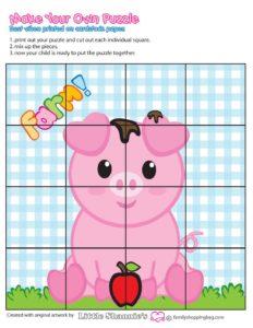Puzzle 3 Game Farm