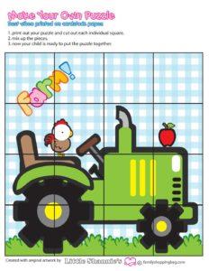 Puzzle 4 Game Farm