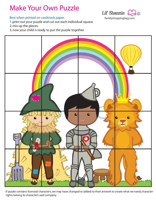 Puzzle 4 Wizard of Oz