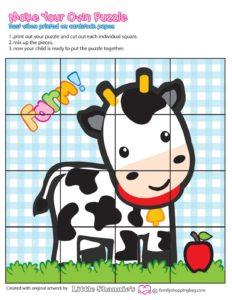 Puzzle Game Farm