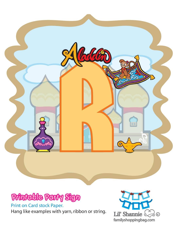 R Banner Aladdin
