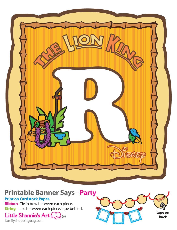 R Lion King