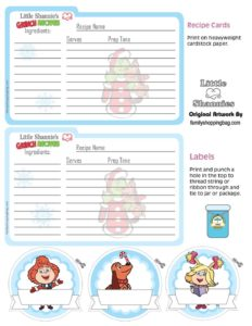 Recipe Cards Grinch